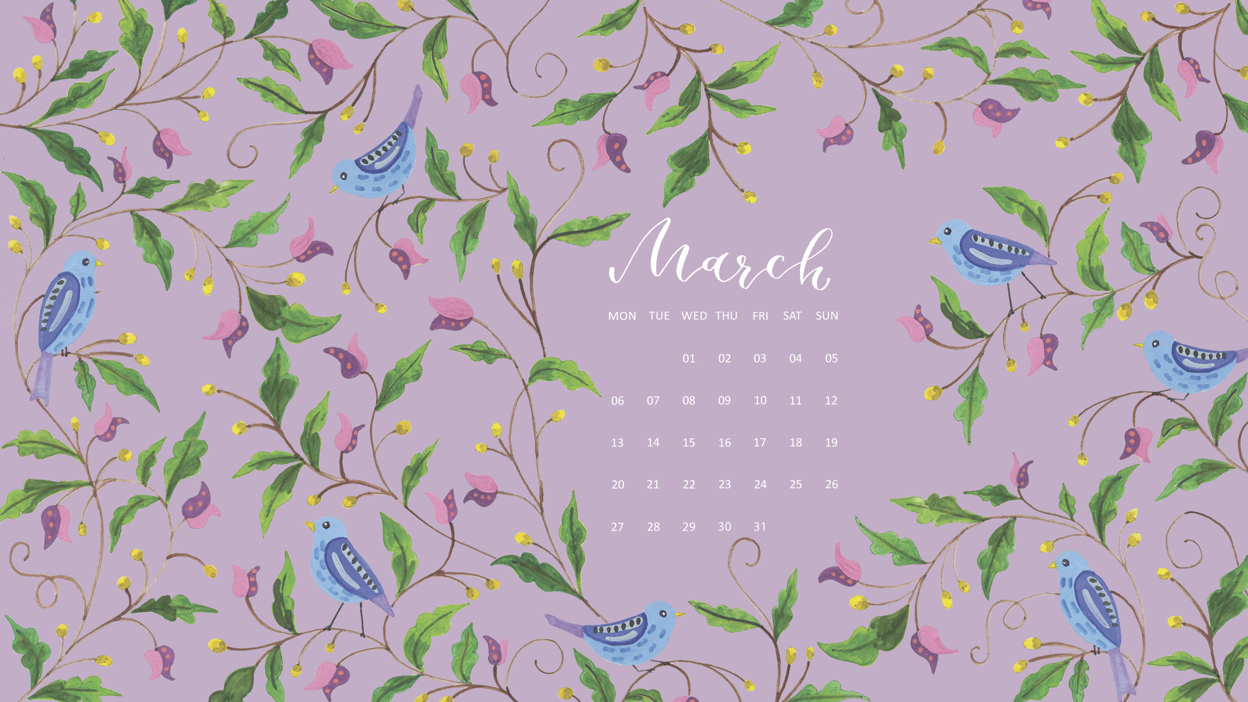 Download Free March 2017 Wallpapers // Simple + Beyond